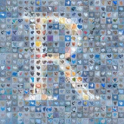 Digital Art - R In Cloud by Boy Sees Hearts