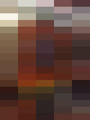 Digital Art - R - Context Series - Limited Run by Lars B Amble