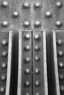 Rivets Photograph - R R B 10 by Mike McGlothlen