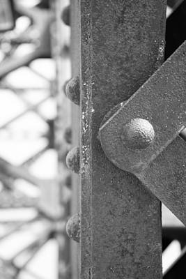Rivets Photograph - R R B 14 by Mike McGlothlen