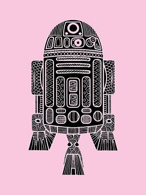 Royalty-Free and Rights-Managed Images - R2 D2 - Star Wars Art by Studio Grafiikka
