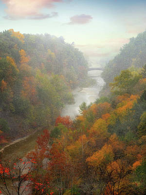 Photograph - Taughannock Overlook by Jessica Jenney