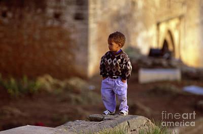 Rabat Photograph - Rabat Kasbah Des Oudaias Little Boy Morocco by Antonio Martinho