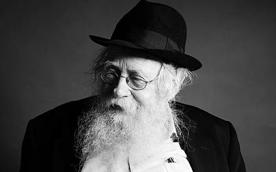 Photograph - Rabbi Adin Even-yisrael Steinsaltz by Marko Dashev