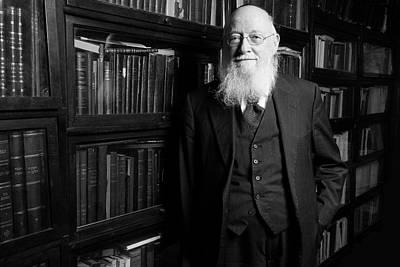 Photograph - Rabbi J. D. Bleich by Marko Dashev