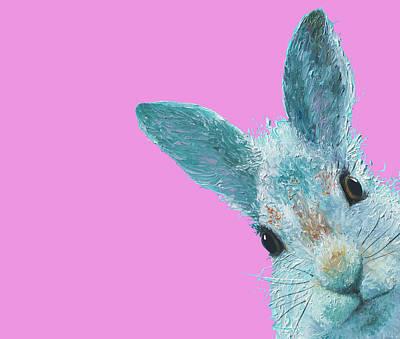 Painting - Rabbit Eyes by Jan Matson