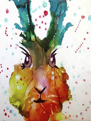 Painting - Rabbit Foo by Cynthia Matthews