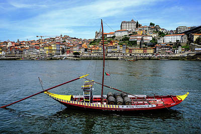 Town Pier Photograph - Rabelo Boat I by Marco Oliveira