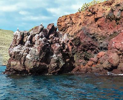 Photograph - Rabida Island Rocky Shore by Harry Strharsky