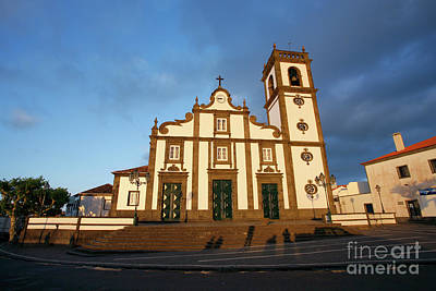Azoren Photograph - Rabo De Peixe Church by Gaspar Avila