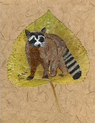 Raccoon Mixed Media - Raccoon by Ralph Root
