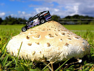 Photograph - Race Car 000  by Chris Mercer