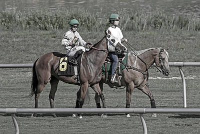 Gaiting Photograph - Race Day by Betsy Knapp