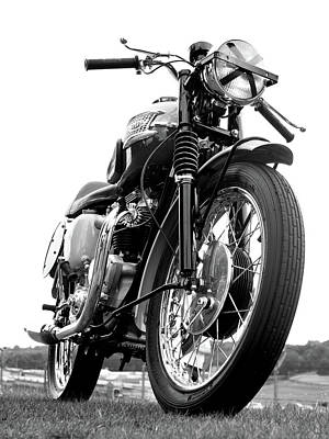 Triumph Bonneville Photograph - Race Day by Mark Rogan