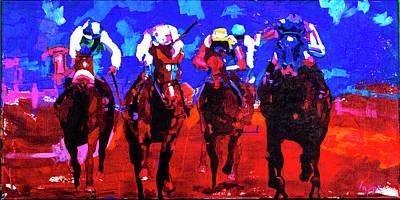Race Day Original by Steve Lappe