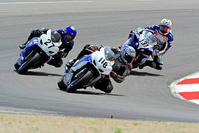 Dennis Miller Wall Art - Photograph - Race Is On by Dennis Hammer