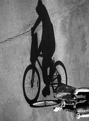 Ladies Bike Photograph - Race On Home by Jerry Cordeiro
