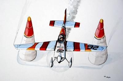 Race Pilot Juan Velarde Original