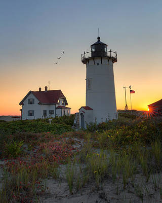 Photograph - Race Point Lighthouse 2015 by Bill Wakeley