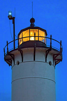 Race Point Lighthouse New England Print by Susan Candelario