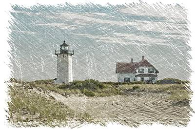 Photograph - Race Point Lighthouse by Paul Miller