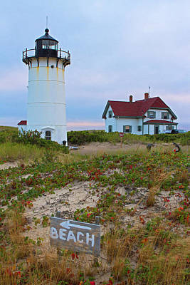 Photograph - Race Point Outer Cape Cod Lighthouse by Juergen Roth