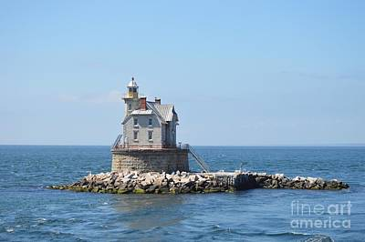 Photograph - Race Rock Lighthouse  by Michelle Welles