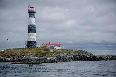 Photograph - Race Rocks Lighthouse by Marilyn Wilson