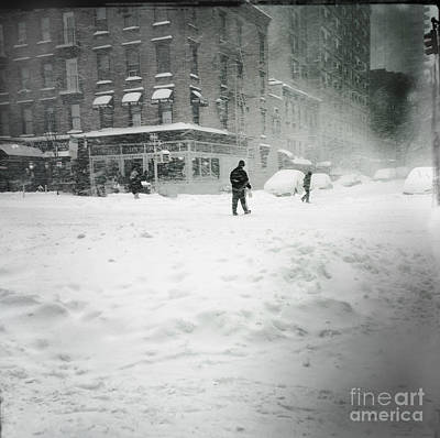 Photograph - Race To The Pole - Winter In New York by Miriam Danar