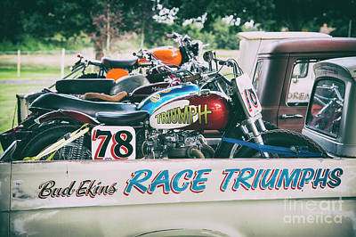 Photograph - Race Triumphs by Tim Gainey