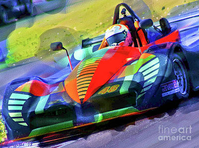 Photograph - Race Vibrance by Tom Griffithe