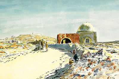 Photograph - Rachael Tomb In 1918 by Munir Alawi