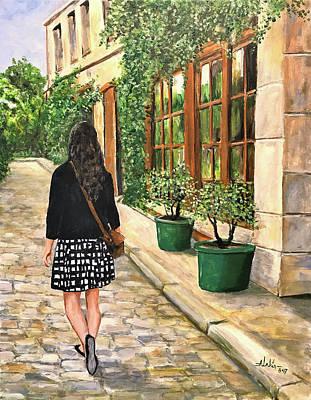 Painting - Rachel by Alan Lakin