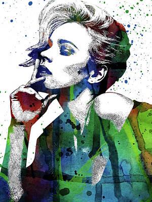 Rachel Mcadams Art Print by Mihaela Pater