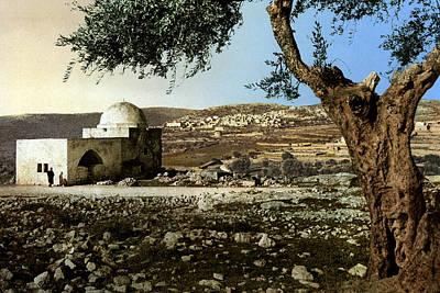 Bethlehem Digital Art - Rachel Tomb In Bethlehem by Munir Alawi