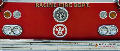 Photograph - Racine Fire Dept by Susan  McMenamin