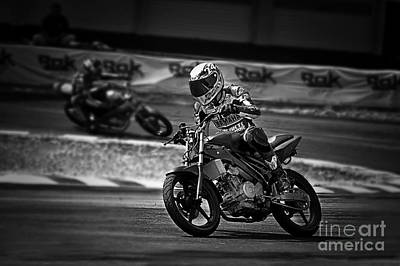 Photograph - Racing by Charuhas Images