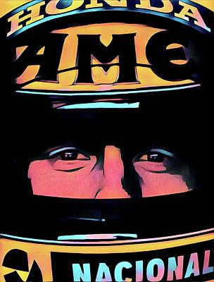 Digital Art - Racing Close by Gary Grayson