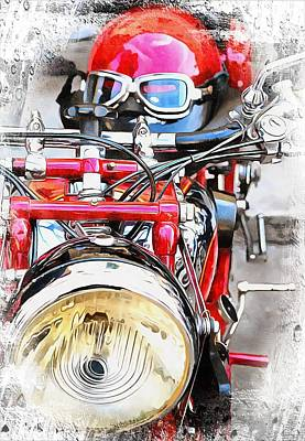 Photograph - Racing Red by Dorothy Berry-Lound