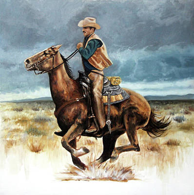 Painting - Racing the Storm by Murry Whiteman