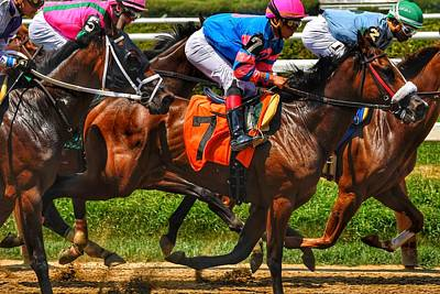 Photograph - Racing Tight by Jeffrey Perkins