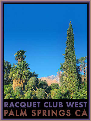 Photograph - Racquet Club West by Stan  Magnan