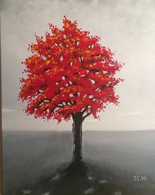 Painting - Rad Maple by Justin Lee Williams