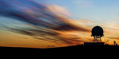 Photograph - Radar Sunrise by Bill Kesler