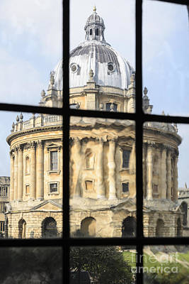 Photograph - Radcliffe Camera Abstract by Michael  Winters