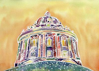 Painting - Radcliffe Camera by Neringa Barmute
