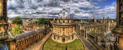 Photograph - Radcliffe Camera Panorama by Yhun Suarez