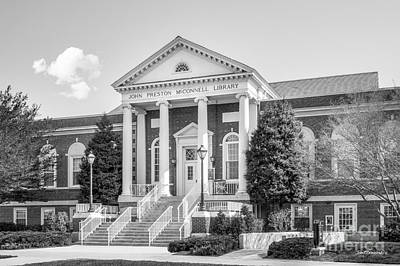 Mater Photograph - Radford University Mc Connell Library by University Icons