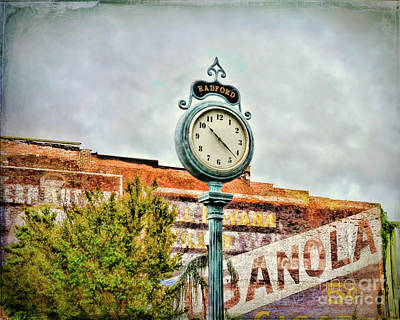 Photograph - Radford Virginia - Time For A Visit by Kerri Farley