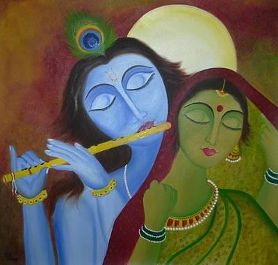 Radha Krishna Original by Riya Rathore